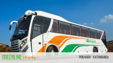 Greenline Tours tourist bus